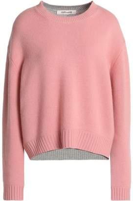 Diane von Furstenberg Two-Tone Cashmere Sweater