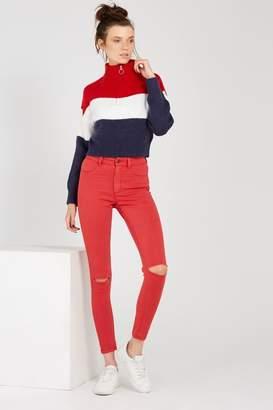 Supra The Skinny Ripped Denim Jean