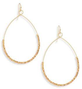 Ettika Beaded Hoop Earrings/2 $45 thestylecure.com