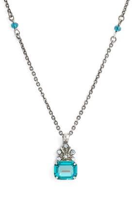 Sorrelli Crowning Glory Crystal Pendant Necklace