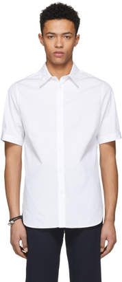Alexander McQueen White English Embroidered Shirt