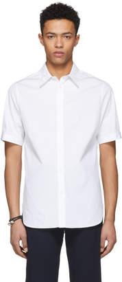 Alexander McQueen White English Embroidered Shirt