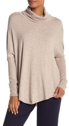 Cyrus Yummy Yarn Cowl Neck Dolman Sleeve Sweater