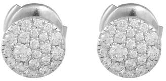 Tiffany & Co. Tifffany & Co. 18K White Gold with 0.37ct Round Diamond Earrings