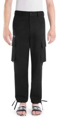 Versace Cotton Cargo Pants