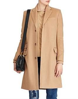 Polo Ralph Lauren Wool-Blend Chesterfield Coat