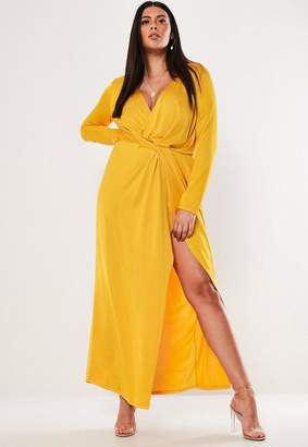 Missguided Yellow Plus Size Dresses - ShopStyle
