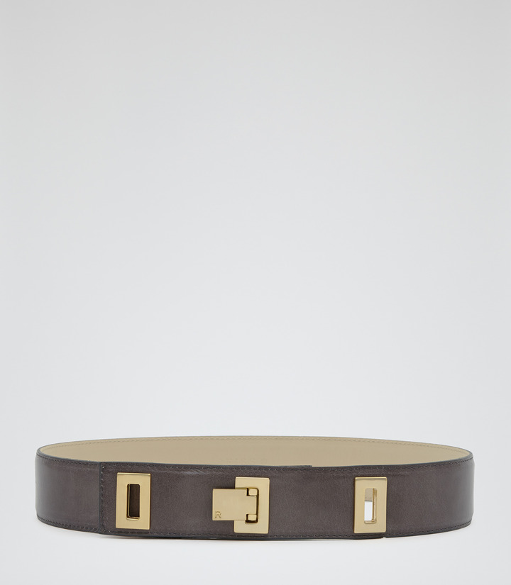 Reiss Logan DROP LOCK BELT