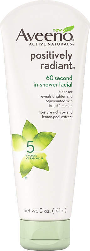 Aveeno Positively Radiant 60 Second In-Shower Facial Image