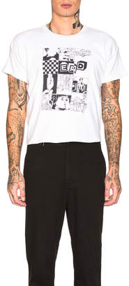 Enfants Riches Deprimes Print Tee in White & Black | FWRD
