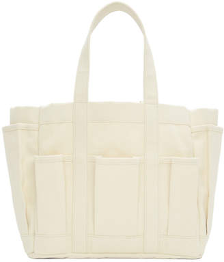 Comme des Garcons Off-White Tool Bag Tote