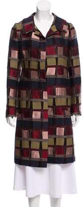 Marni Jacquard Knee-Length Coat