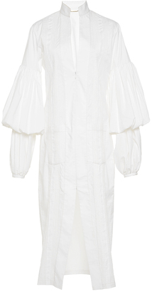 Johanna Ortiz Palomino Puff Sleeve Shirtdress