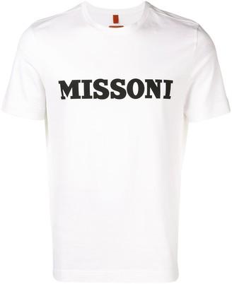 Missoni logo print T-shirt
