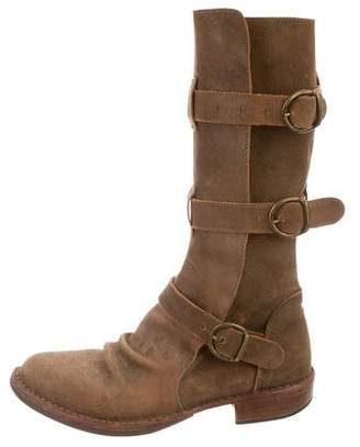 Fiorentini+Baker Mid-Calf Round-Toe Boots