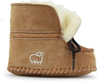 Lamo Baby Wool Lined Slip On Moccasin (Toddler/Little Kid)