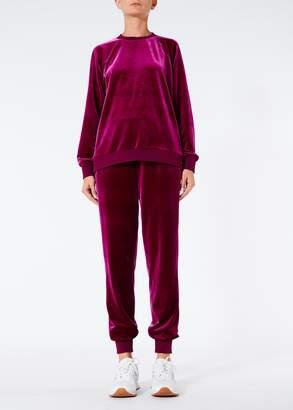 Tibi Stretch Velvet Sweatshirt