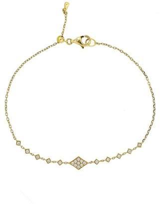 Bony Levy 18K Yellow Gold Diamond Keepsakes Bracelet - 0.16 ctw