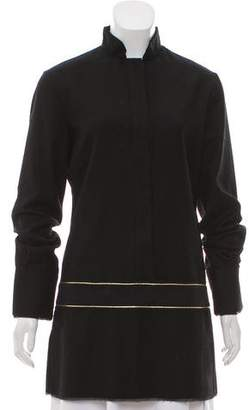 CNC Costume National Metallic Accented Tunic