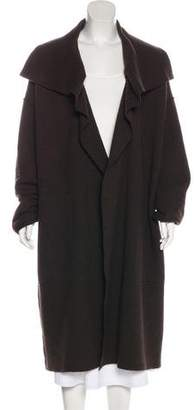Lanvin Wool Oversize Long Coat