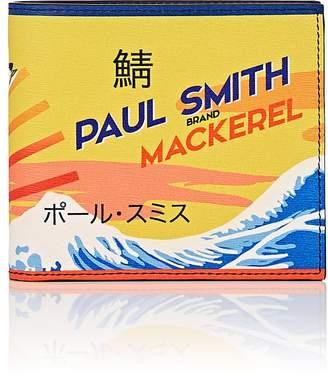 Paul Smith Men's Mackerel-Print Leather Billfold