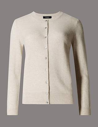 Marks and Spencer Pure Cashmere Button Through Cardigan