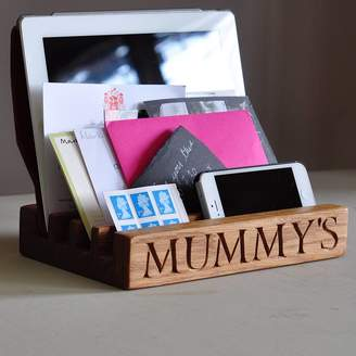 STUDY The Oak & Rope Company Mummy's Desk And Gadget Tidy