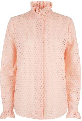 Claudie Pierlot Broderie Anglaise Shirt