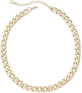 JCPenney MONET JEWELRY Monet Gold-Tone Curb Link Collar Necklace