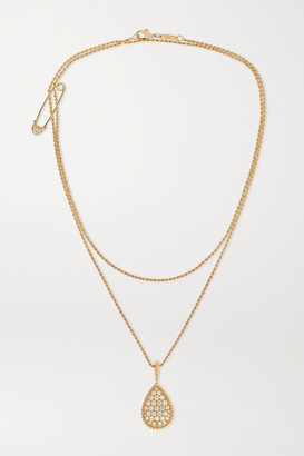 Boucheron Serpent Bohème 18-karat Gold Diamond Necklace - one size