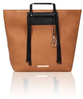Amanda Wakeley Tan Leather Hudson Tote Bag
