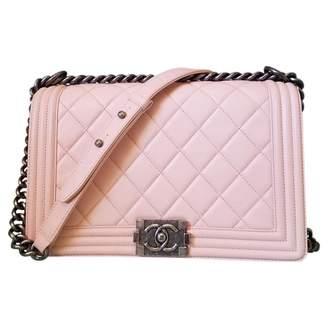 Chanel Boy leather crossbody bag