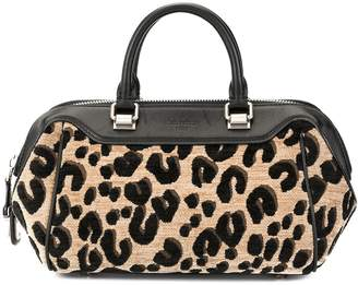 Louis Vuitton Pre-Owned leopard print handbag
