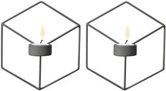 Menu Wall-Mounted Candleholders (Set of 2)