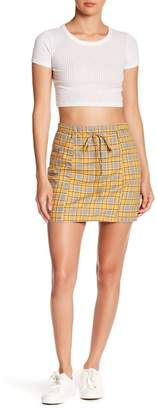 EMORY PARK Plaid Mini Skirt