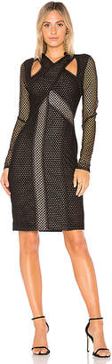 BCBGMAXAZRIA Jaylynn Mesh Dress