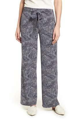 Chaus Tie Waist Speckle Pants