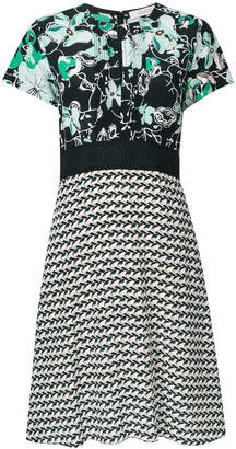 geometrical print flared dress - Black WANDERING doW1S3LRM