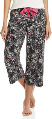 Hue Black Heart Print PJ Pants