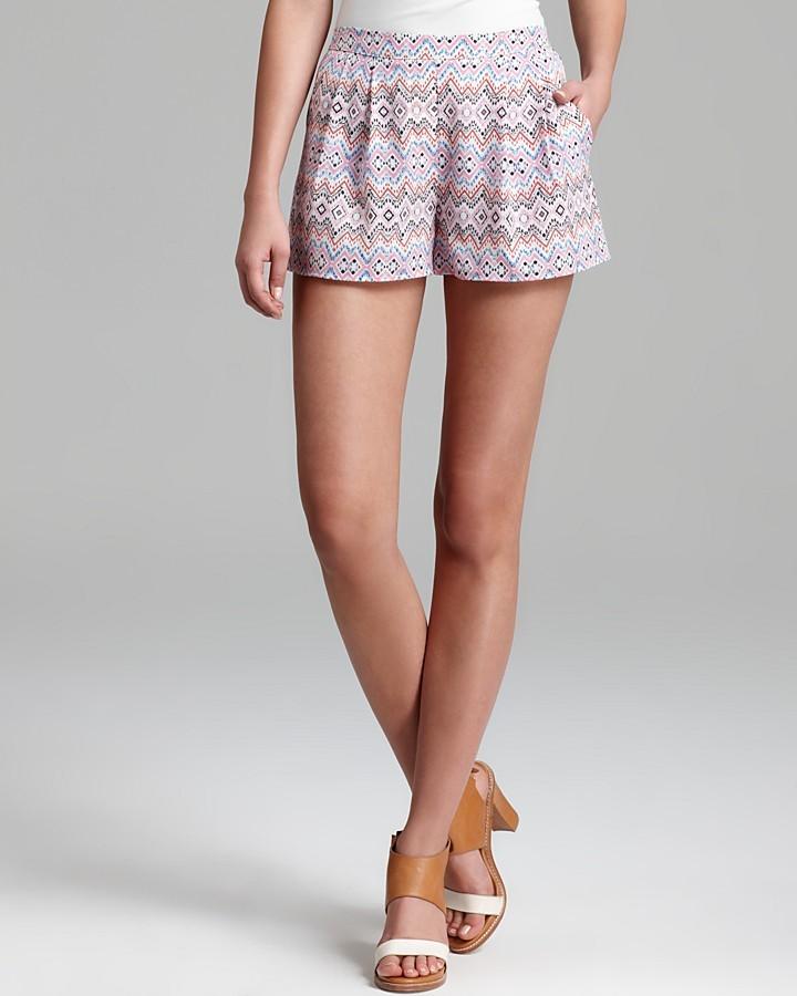 Aqua Shorts - Pink Lady Pocket
