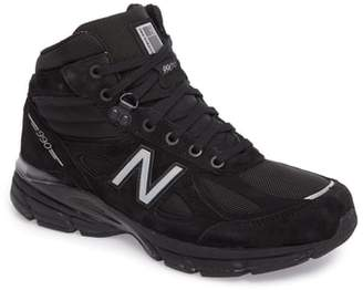 New Balance 990v4 Water Resistant Sneaker Boot