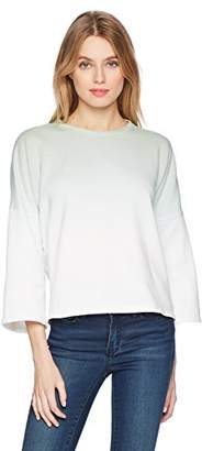 Calvin Klein Jeans Women's Cropped Dip Dye Sweatshirt