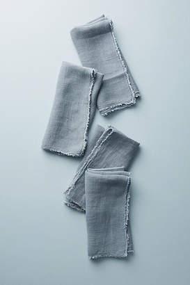 Pom Pom at Home Frayed Linen Napkins, Set of 4