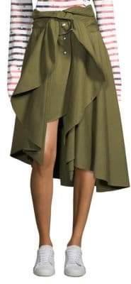 Faith Connexion Canvas Wrap Skirt