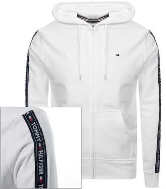 d5c6261e Tommy Hilfiger Icon Logo Zip Hoodie White