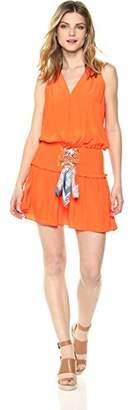 Ramy Brook Women's Bianca Printed Tie Dress