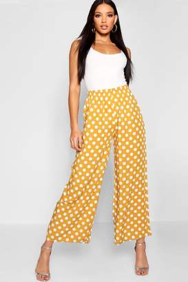 ef94ae0ffc828 Polka Dot Wide Leg Trousers - ShopStyle UK