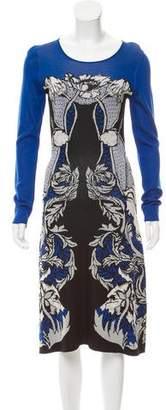 Temperley London Jacquard Midi Dress