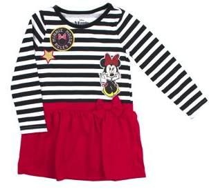 Minnie Mouse Striped Long Sleeve Tunic Dress