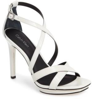 Women's Calvin Klein Vonnie Platform Sandal $119.95 thestylecure.com
